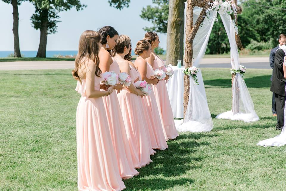 Lake Front Wedding in St Joseph, MI