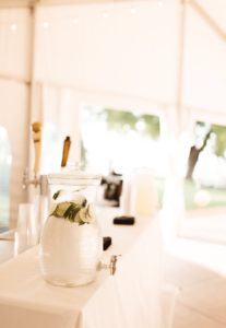 Tented Rehearsal Dinner | LakeHouse, St Joe MI